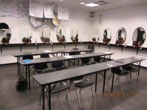 Montana Academy of Salons Classroom