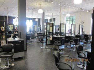 Salon floor at Montana Academy of Salons