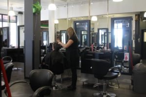Hair Cutting at the Montana Academy of Salons