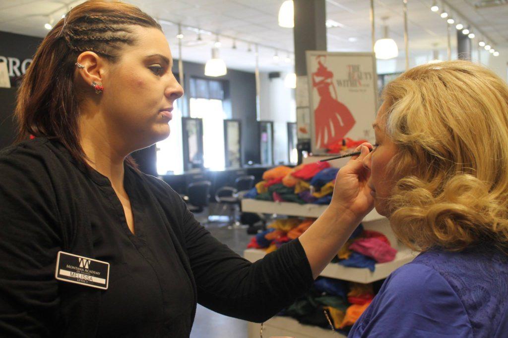 Makeup at the Montana Academy of Salons