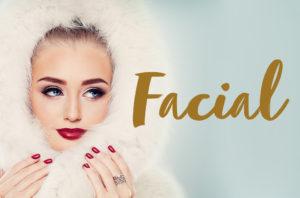 woman in white fur hood